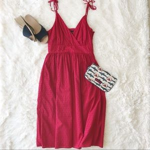 Mercel & Madison Red spaghetti strap dress size 4